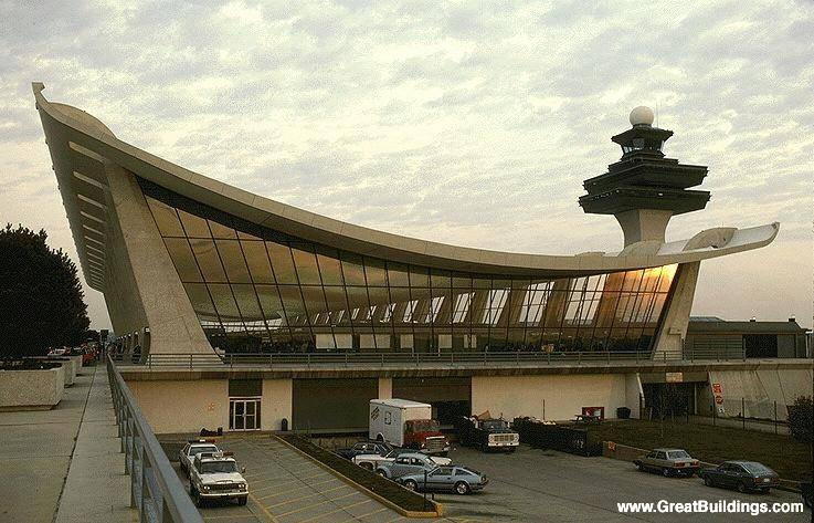 Morphing the Dulles International Airport