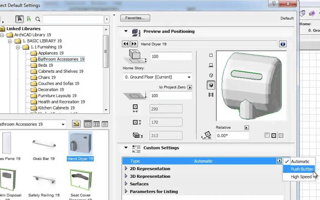 Pick Your Playlist – Learn ARCHICAD 19 – Library Enhancements