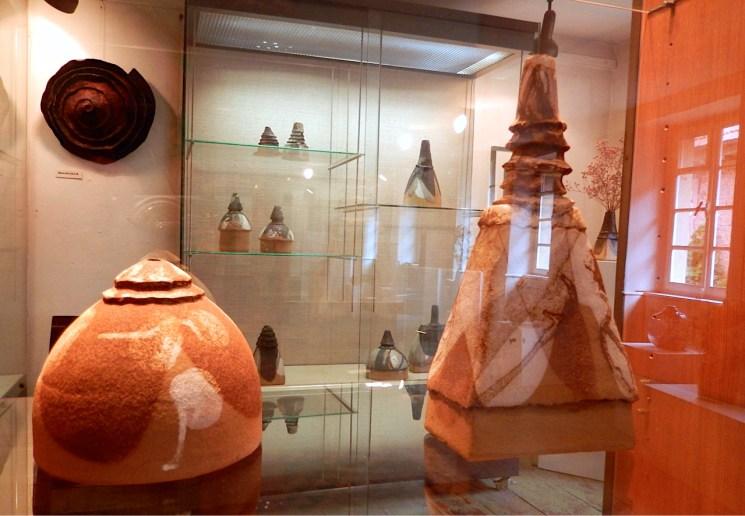 aktuelle Werke von Lotte Reimers ausgestellt in ihrer Hausgalerie | Foto: Schnuppe von Gwinner