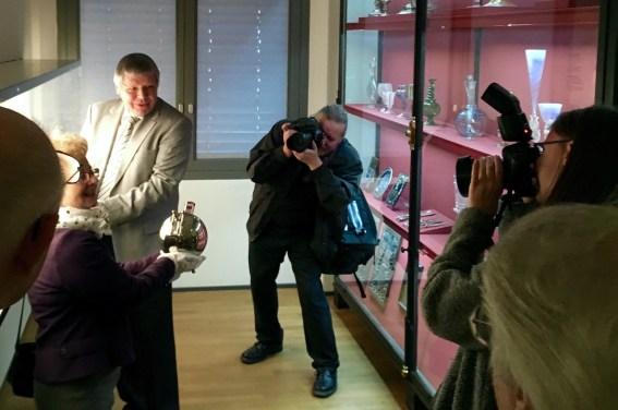 Vertreter der Stiftung und der Presse | Foto: Schnuppe von Gwinner