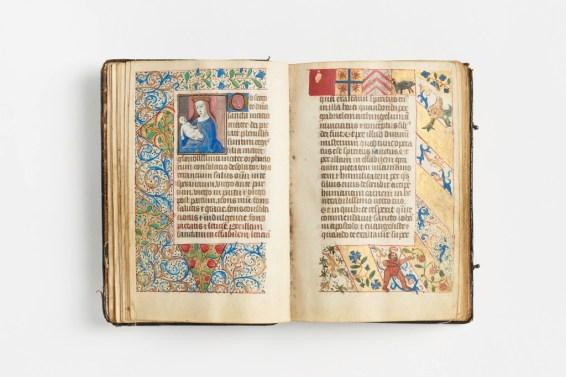 Stundenbuch 1480 | GRASSI Museum für Angewandte Kunst | Foto: Esther Hoyer