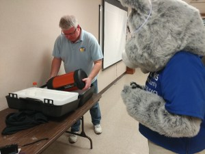 Parky and Brian from the Cincinnati Astronomical Society