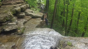 Clifty Falls Indiana State Park Waterfall