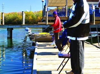 Fishing at Lake Isabella