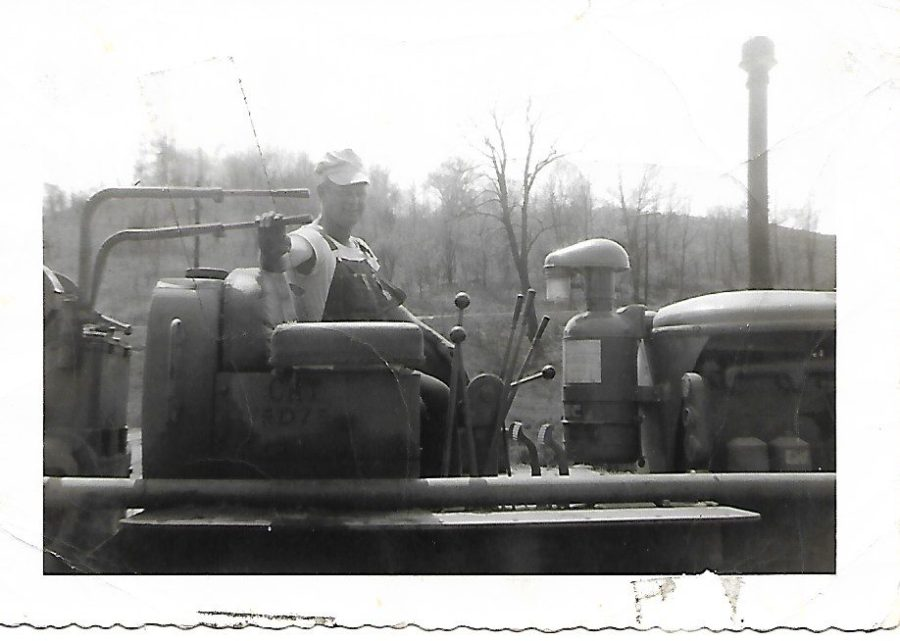 Vernon Lovins working at Winton Woods Harbor.