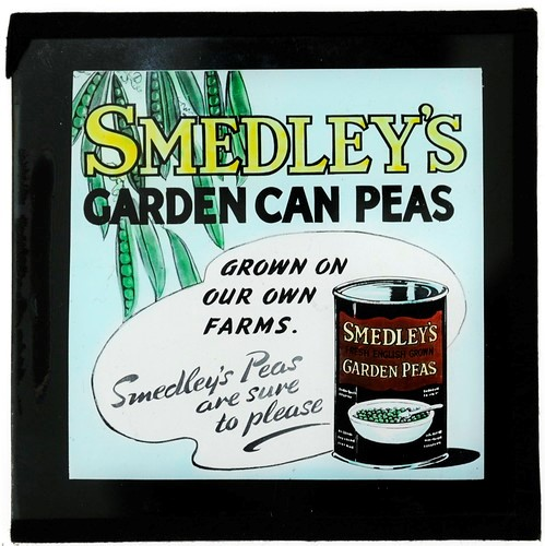 An illustration of Smedley's Garden Can Peas.
