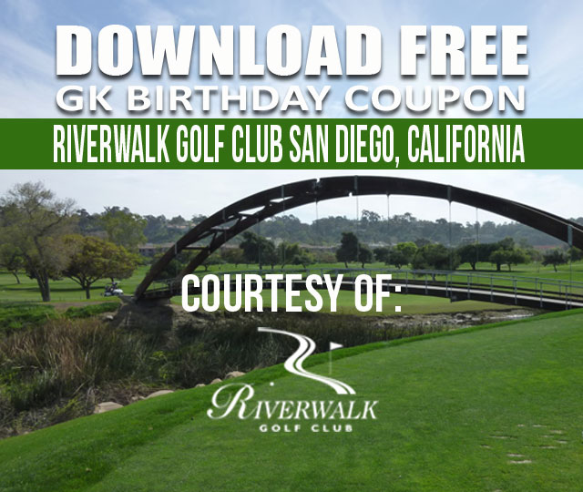 Riverwalk Golf Club San Diego California GK Coupon & Tee Time Special