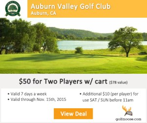Auburn Valley Golf Club Tee Times