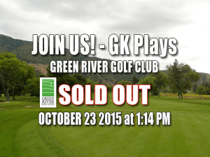 Green River Golf Club Tee Times