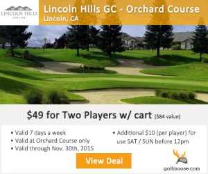 Lincoln Hills Golf Course - Orchard Course Tee Times