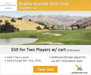 Golf Moose - Diablo Grande Golf Club Tee Times