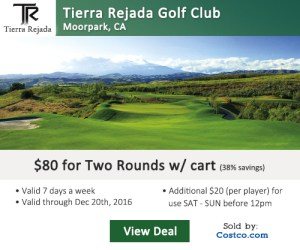 Tierra Rejada Golf Club Tee Time Special