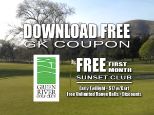 Sunset Deal Green River Golf Club