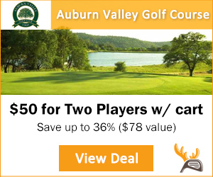 Golf Moose Auburn Valley Golf Course Tee Time SpecialGolf Moose Auburn Valley Golf Course Tee Time Special