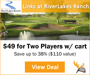 Golf Moose Links at Riverlakes Ranch Golf Tee Time Special
