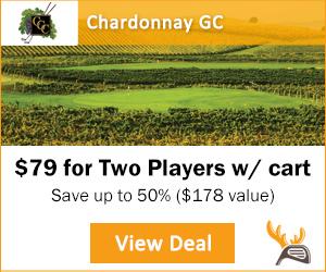 Golf Moose Chardonnay Golf Club Tee Time Special