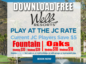 JC Golf Coupon - Welk Resorts San Diego Golf Tee Time Special