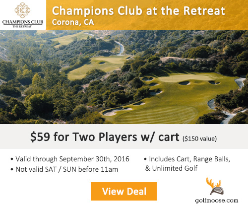 GolfMoose - Champions Club at the Retreat Golf Tee Time Special
