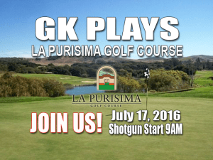 GK Plays La Purisima Golf Course Tee Time Special