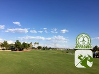 The Club at Sunrise Golf Course Review Las Vegas Nevada – Hole 14 view from fairway