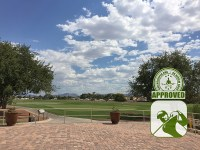 The Club at Sunrise Golf Course Review Las Vegas Nevada – patio/staging area