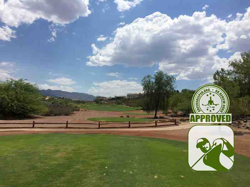 Rio Secco Golf Club Hole 5 view from tee