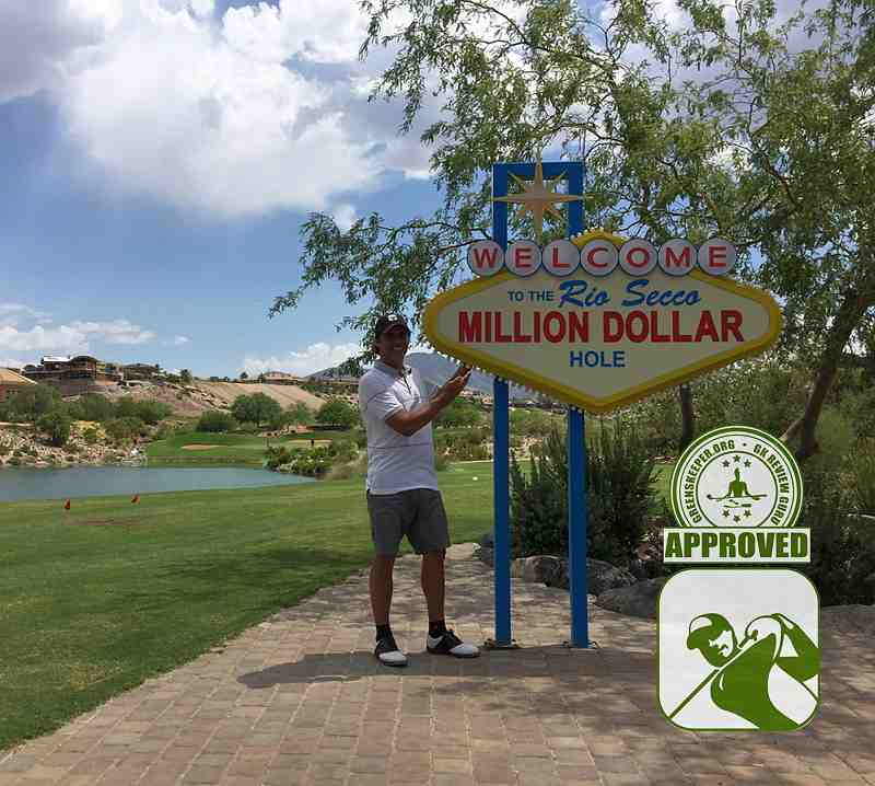 Rio Secco Golf Club Million Dollar Hole always a fun attraction