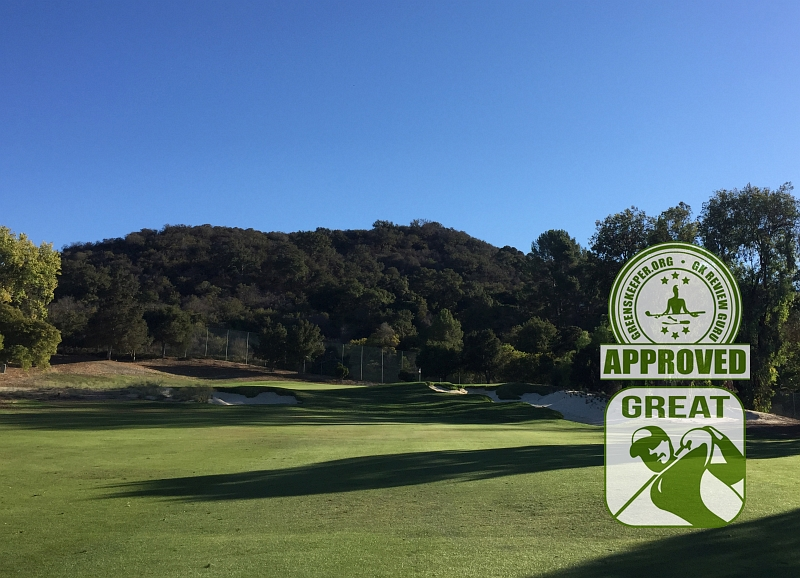 Los Robles Greens Golf Course Hole 13 Thousand Oaks CA