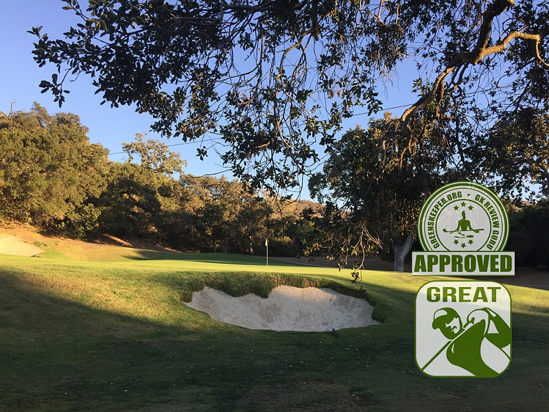 Los Robles Greens Golf Course Hole 16 Thousand Oaks CA