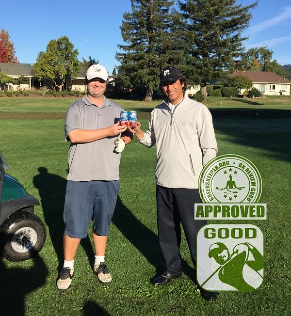 Oakmont Golf Club (EAST) Santa Rosa, CA GK Review Gurus Hoisting the Hawaiian Punch