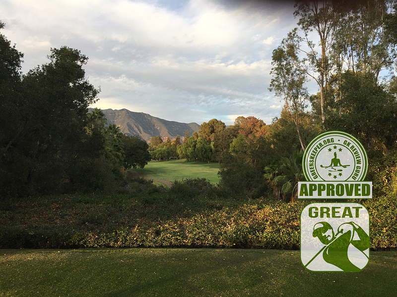 Ojai Valley Inn & Spa Golf Course Hole 18 Ojai, CA