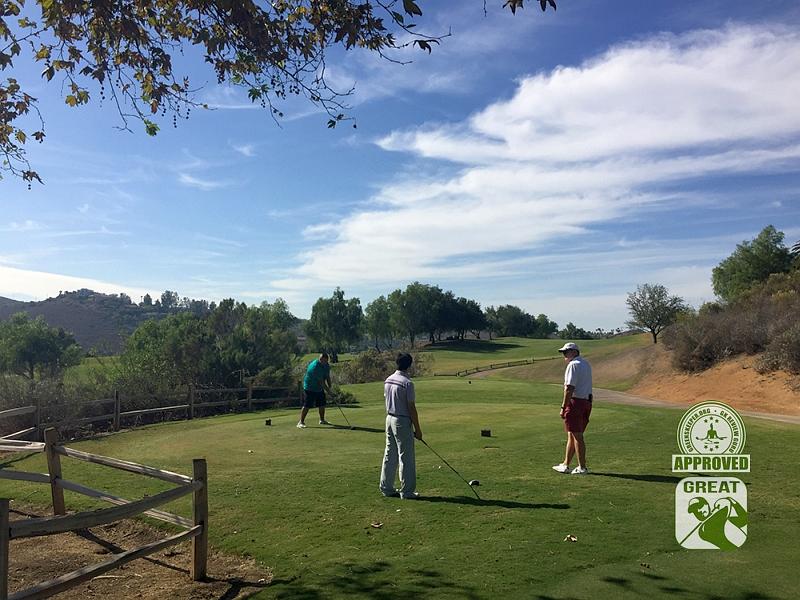 Maderas Golf Club Poway, California. Hole 12 Tee Box