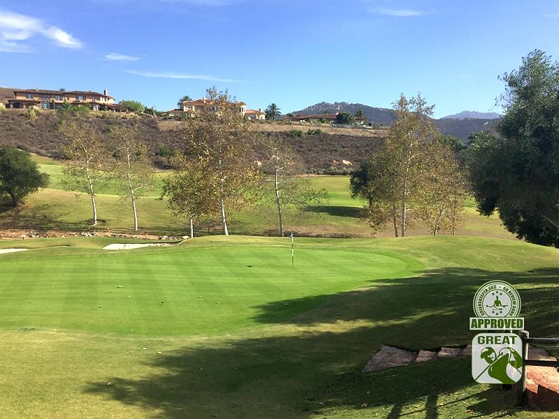 Maderas Golf Club Poway, California. Hole 14
