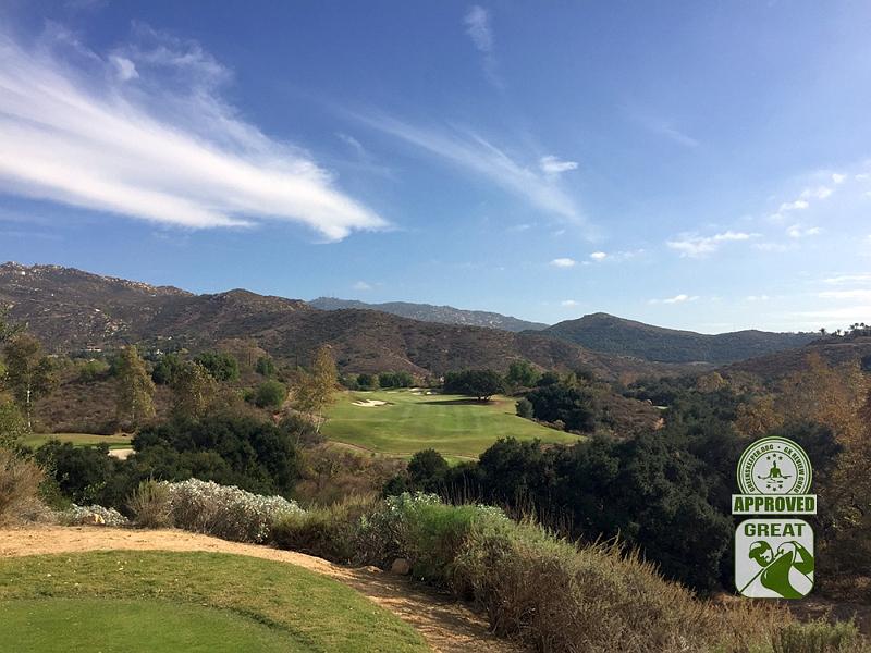 Maderas Golf Club Poway, California. Hole 18
