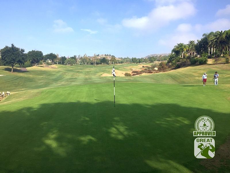 Maderas Golf Club Poway, California. Hole 5 Green-side