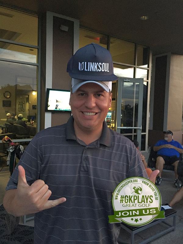 TPC Las Vegas, Las Vegas, Nevada. GDR wins a LINKSOUL hat