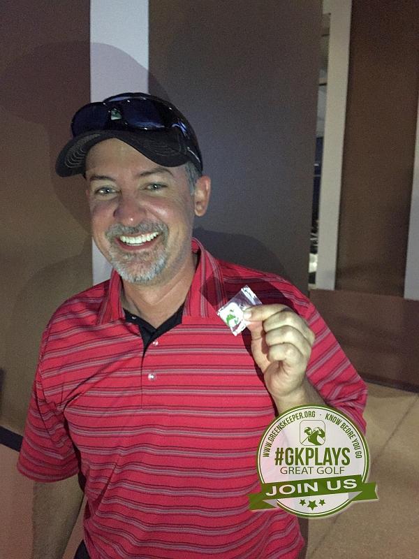 TPC Las Vegas, Las Vegas, Nevada. John_T wins a GK ball marker