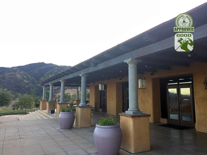 Champions Club at the Retreat Corona, California. Rear Patio