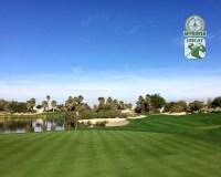 Desert Willow Golf Resort (FIRECLIFF) Palm Desert California. Hole 17