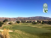 Champions Club at the Retreat Corona, California. Hole 18