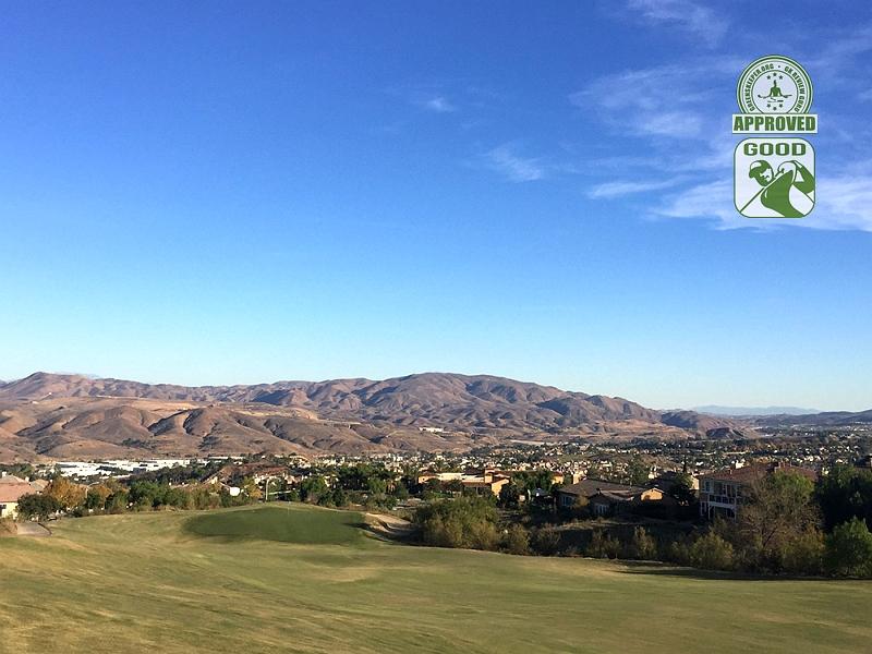 Champions Club at the Retreat Corona, California. Hole 7 Approach