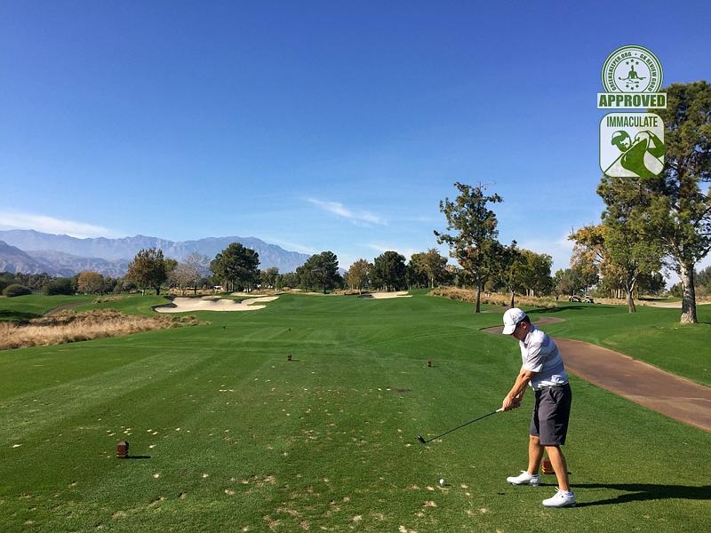 Indian Wells Golf Resort (PLAYERS) Indian Wells, California. Hole 2 Tee Box