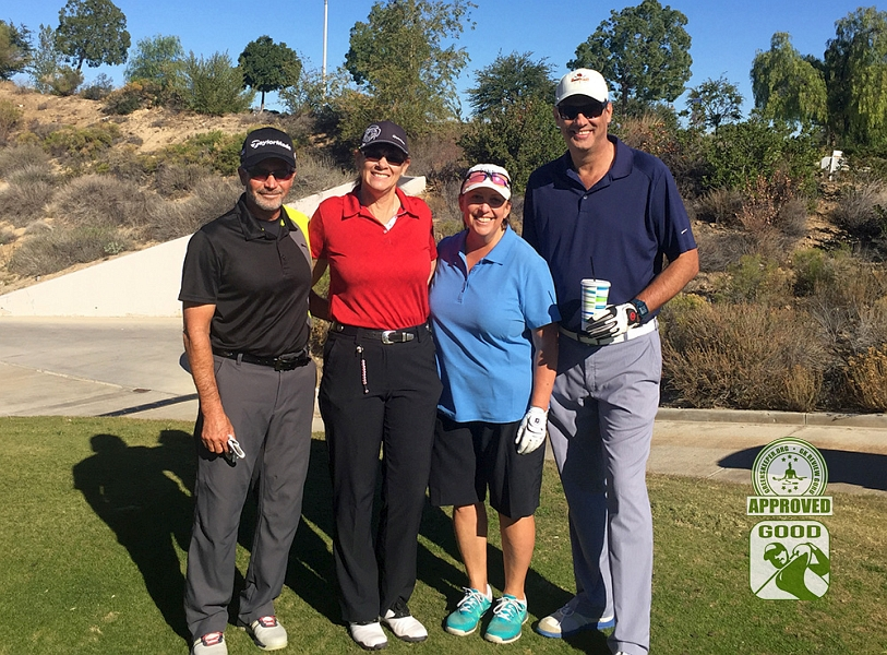 Champions Club at the Retreat Corona, California. GK Review Gurus (L to R) RStang, Dcricket, Abbacat, BSparks61