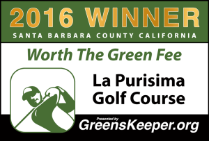 Worth the Green Fee 2016 for Santa Barbara County - La Purisima Golf Course
