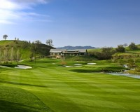 Yocha Dehe Golf Club Brooks California Hole 18