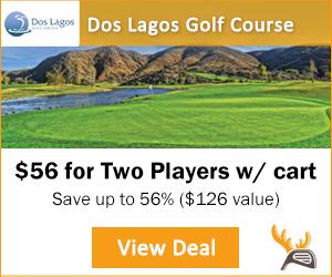 Dos Lagos Golf Club Corona, California Tee Time Special on Golf Moose
