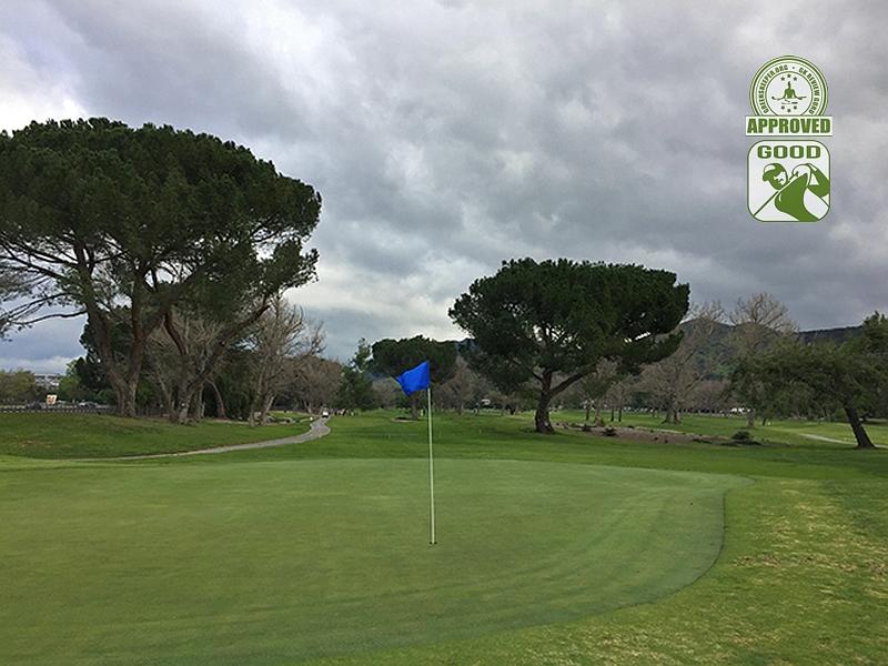 Westlake Golf Course Westlake California Hole 16 GK Review Guru Visit