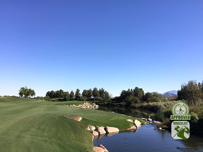 Classic Club Palm Desert California GK Review Guru Visit Hole 10