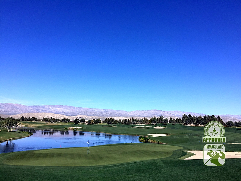Classic Club Palm Desert California GK Review Guru Visit Hole 18