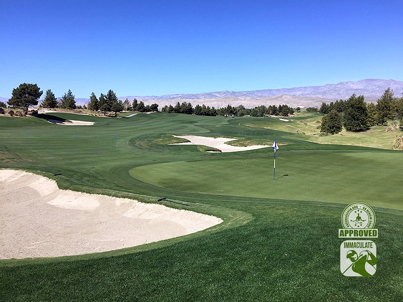 Classic Club Palm Desert California GK Review Guru Visit Hole 4